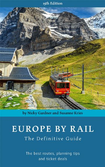Europe by Rail (15th Edition) <br> by Nicky Gardner and Susanne Kries